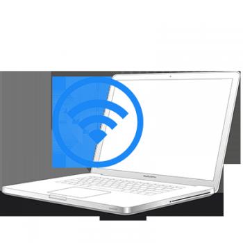 Замена шлейфа wi-fi антенны и камеры на MacBook Pro
