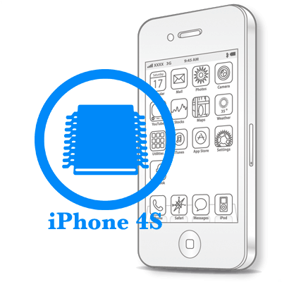 Ремонт iPhone 4S Заміна системної плати на