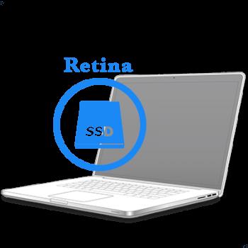 Замена SSD-диска на MacBook Pro Retina