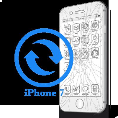 Замена стекла (тачскрина) iPhone 7