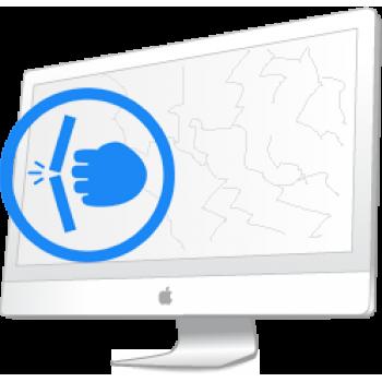 Замена стекла на iMac