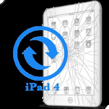 iPad 4- Замена стекла (тачскрина)