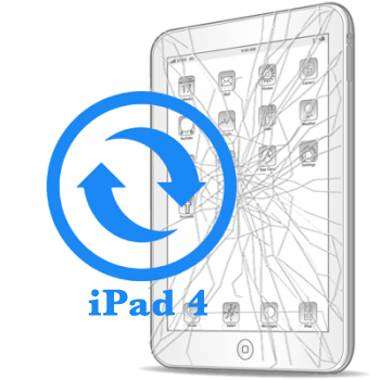 Ремонт Ремонт iPad iPad 4 Замена стекла (тачскрина)