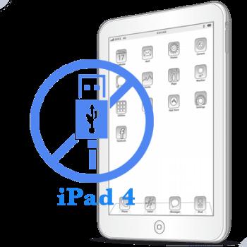 Ремонт Ремонт iPad iPad 4 Замена USB контролера