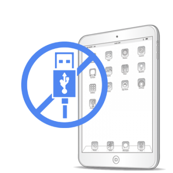 Замена USB контролера iPad mini 3