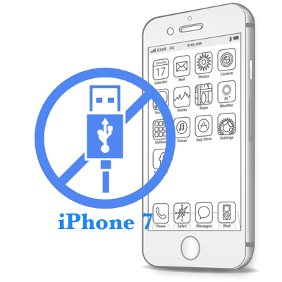 iPhone 7- Замена USB-контроллера