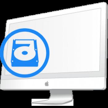 """Ремонт Ремонт iMac и MacBook iMac 21.5"""" (A1311) и 27"""" (A1312) 2009-2011 Замена жесткого диска HDD на iMac A1311 A1312"""