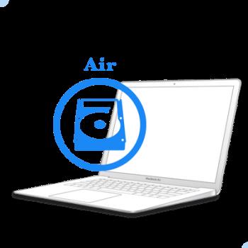 Замена жесткого диска (HDD) на MacBook Air