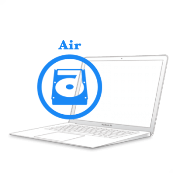 Ремонт Ремонт iMac та MacBook MacBook Air 2010-2017 Заміна жорсткого диску (HDD) на