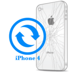Ремонт iPhone 4 Замена корпуса (задней крышки)