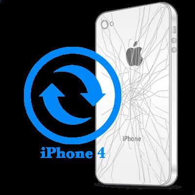 Замена корпуса (задней крышки) iPhone 4
