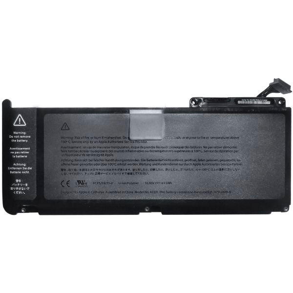 Батарея (аккумулятор) Apple А1331 для MacBook 13ᐥ 2010 (A1342)