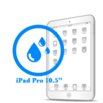 Чистка iPad Pro 10.5ᐥ после попадания влаги
