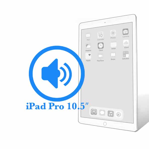 iPad Pro - Замена полифонического динамика (buzzer) 10.5ᐥ