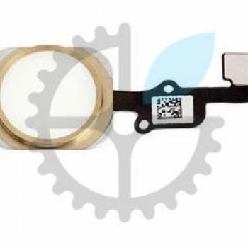 Кнопка Home в сборе со шлейфом для iPhone 6s (Gold)