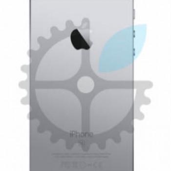 Корпус, задняя панель для iPhone SE (Space Gray)