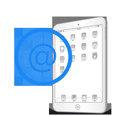 """Настройка почты iPad Pro 10.5"""""""