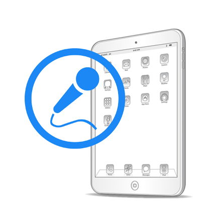 Замена микрофона iPad Pro 10.5''