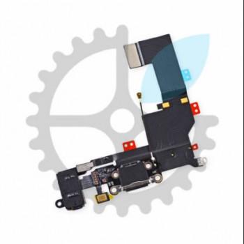 роз'єм (гніздо) зарядки зі шлейфом та аудіо-портом для iPhone SE