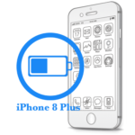 8 Plus iPhone - Замена батареи (аккумулятора)