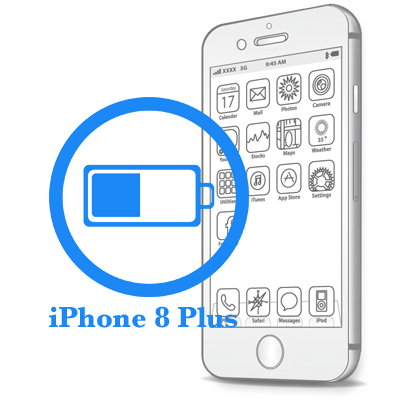 iPhone 8 Plus - Заміна батареї (акумулятора)