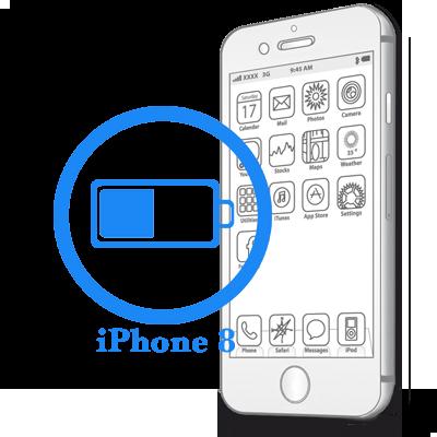 iPhone 8- Замена батареи (аккумулятора)