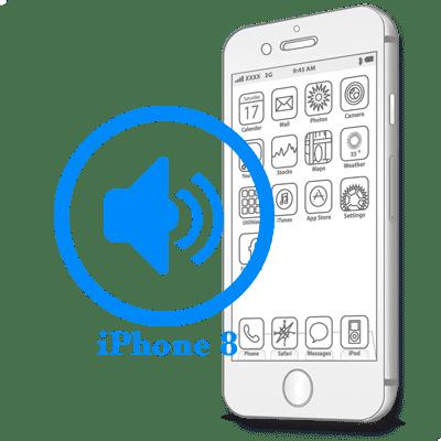 Замена полифонического динамика iPhone 8