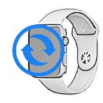 - Замена стекла дисплея AppleWatch Series 1 42mm