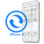 Ремонт iPhone 8 Замена стекла (тачскрина)