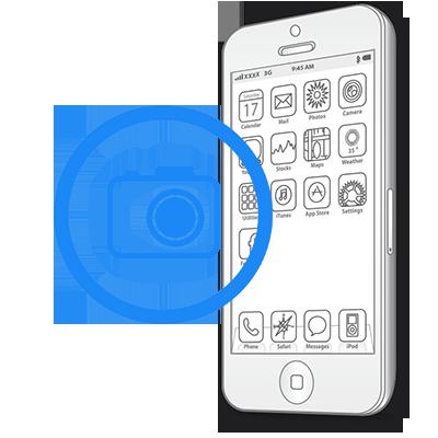 Ремонт iPhone SE Заміна передньої (фронтальної) камери на