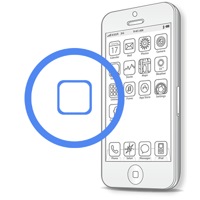 iPhone SE- Замена кнопки HomeiPhone