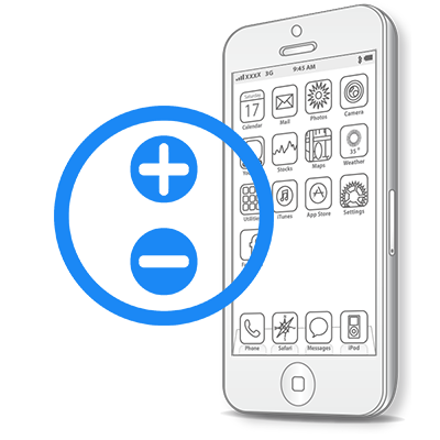 Ремонт iPhone SE Ремонт кнопок гучності
