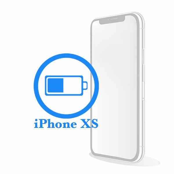iPhone XS - Замена батареи (аккумулятора)