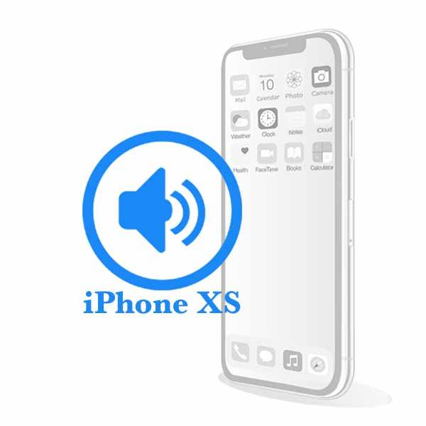iPhone XS - Замена полифонического динамика