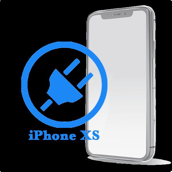 iPhone XS - замена разъема зарядки / синхронизации