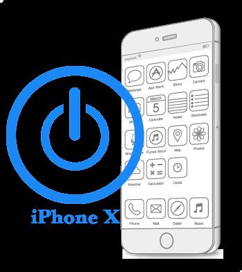 iPhone X- Восстановление-замена кнопки Power (включения, блокировки)