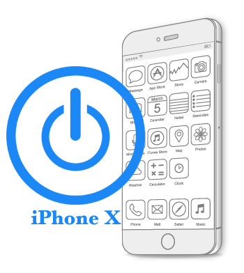 Ремонт iPhone X Восстановление-замена кнопки Power (включения, блокировки)