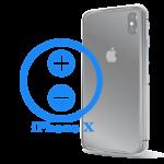 Ремонт (замена) кнопок громкости iPhone X