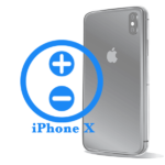 Ремонт (Заміна) кнопок гучності iPhone X
