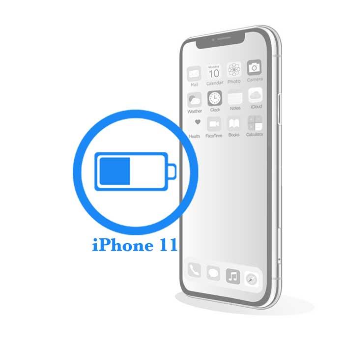 iPhone 11 - Замена батареи (аккумулятора)