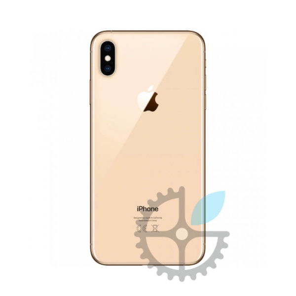 Корпус iphone xs gold, back covert iphone xs gold