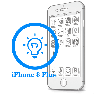 Ремонт iPhone 8 Plus Замена датчиков освещения и приближения