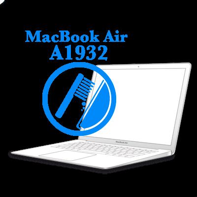 Ремонт Ремонт iMac и MacBook Профилактика: чистка и замена термопасты MacBook Air 2018-2019 Профилактика