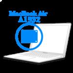 MacBook Air 2018-2019 - Замена ножек нижней крышки