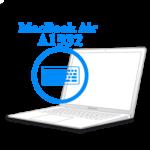 MacBook Air 2018-2019 - Замена подсветки клавиатуры