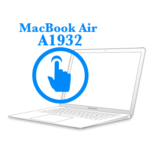 MacBook Air 2018-2019 - Замена шлейфа тачпадаMacBook Air 2018-2019