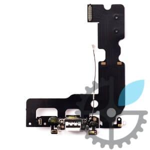 Шлейф (порт) зарядки та синхронізації iPhone X з нижніми мікрофонами