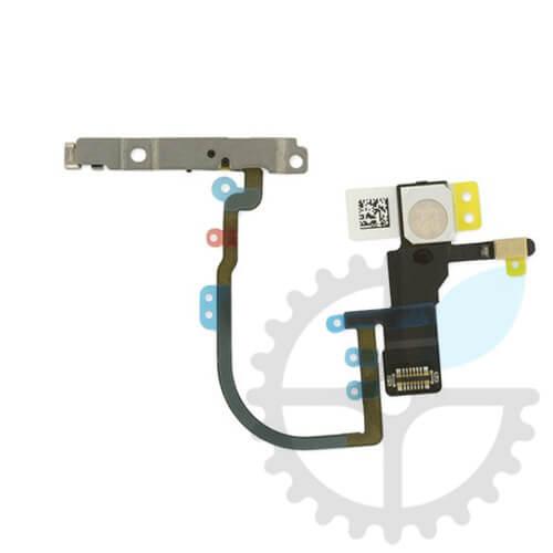 Шлейф кнопки включення / блокування, гучності, мікрофона і спалаху для iPhone XS