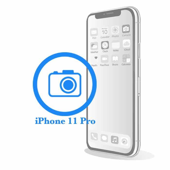 Ремонт iPhone 11 Pro Max Замена фронтальной (передней) камеры на