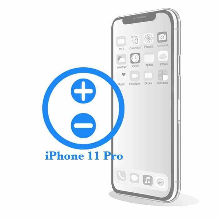 Pro iPhone 11 Pro - Замена кнопок управления громкостьюiPhone 11